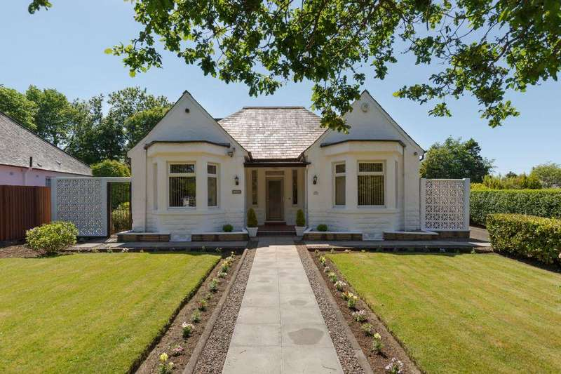4 Bedrooms Detached Bungalow for sale in 553 Queensferry Road, Barnton, Edinburgh, EH4 7QE