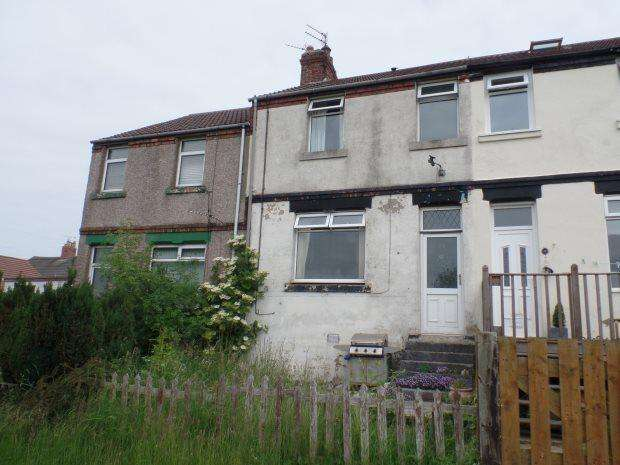 3 Bedrooms Terraced House for sale in LAKEBANK TERRACE, STATION TOWN, PETERLEE AREA VILLAGES
