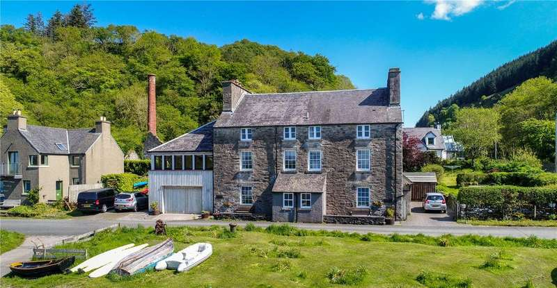 5 Bedrooms Semi Detached House for sale in 1 Harbour House, Crinan, Lochgilphead, Argyll, PA31
