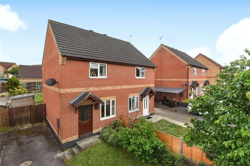 2 Bedrooms Semi Detached House for sale in Hawks Way, Sleaford, NG34