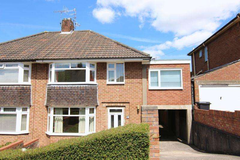 4 Bedrooms Semi Detached House for sale in Priory Court Road, Bristol