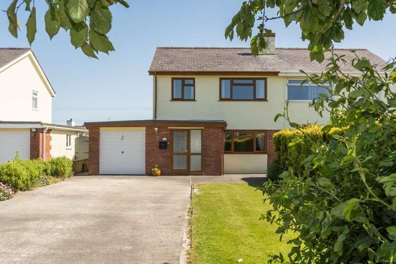3 Bedrooms Semi Detached House for sale in Tregele, Cemaes Bay, Isle of Anglesey