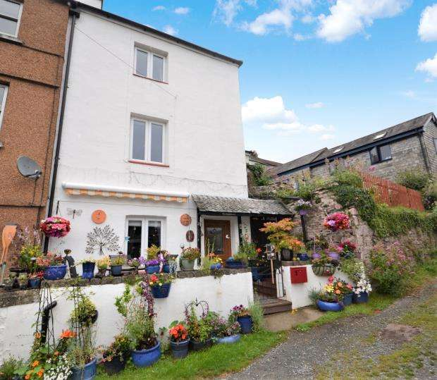4 Bedrooms End Of Terrace House for sale in Tamar View, The Quay, Calstock, Cornwall