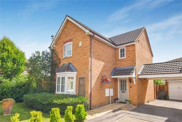3 Bedrooms Detached House for sale in Sandy Road, Calvert Green, Buckinghamshire. MK18 2FW