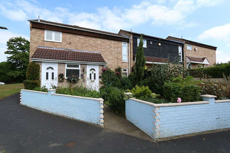 3 Bedrooms End Of Terrace House for sale in 23, Naseby, Bracknell, Berkshire, RG12 7HD