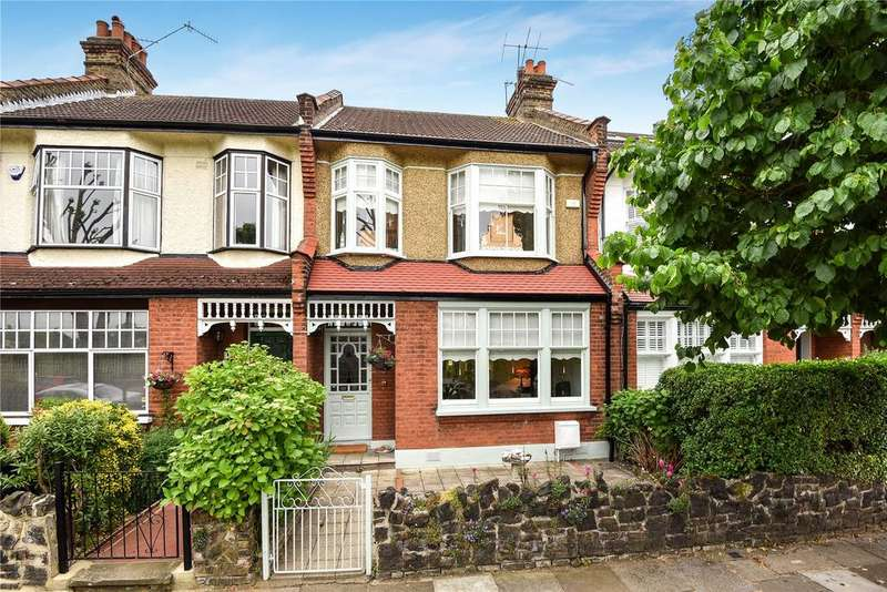 3 Bedrooms Terraced House for sale in Chimes Avenue, Palmers Green, London, N13