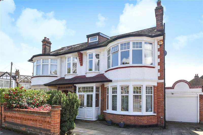 4 Bedrooms Semi Detached House for sale in Broomfield Lane, Palmers Green, London, N13