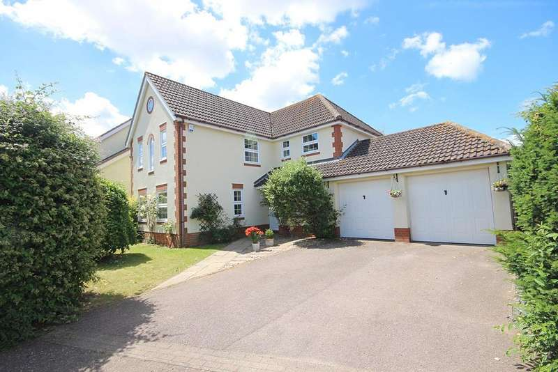 5 Bedrooms Detached House for sale in Linfold Close, Braintree, CM7