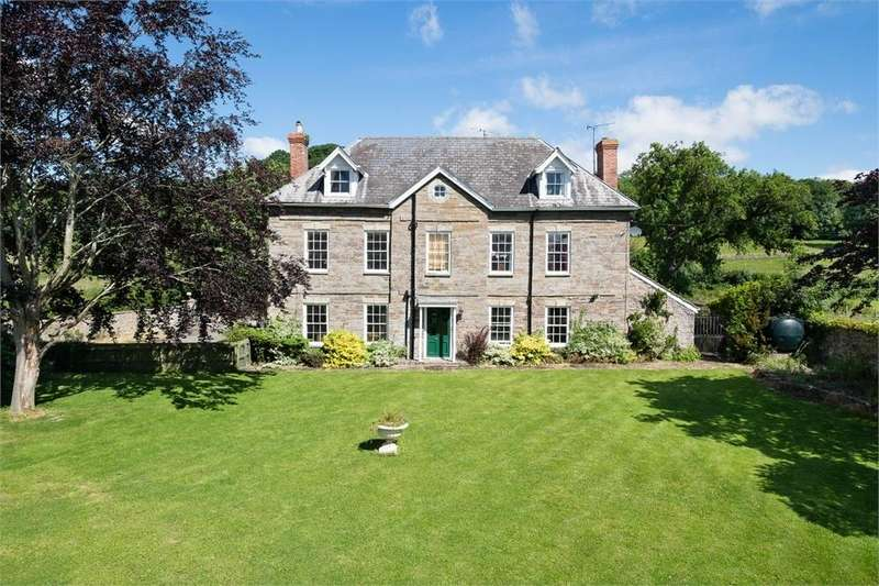 5 Bedrooms Detached House for sale in Whitney-on-Wye, Herefordshire