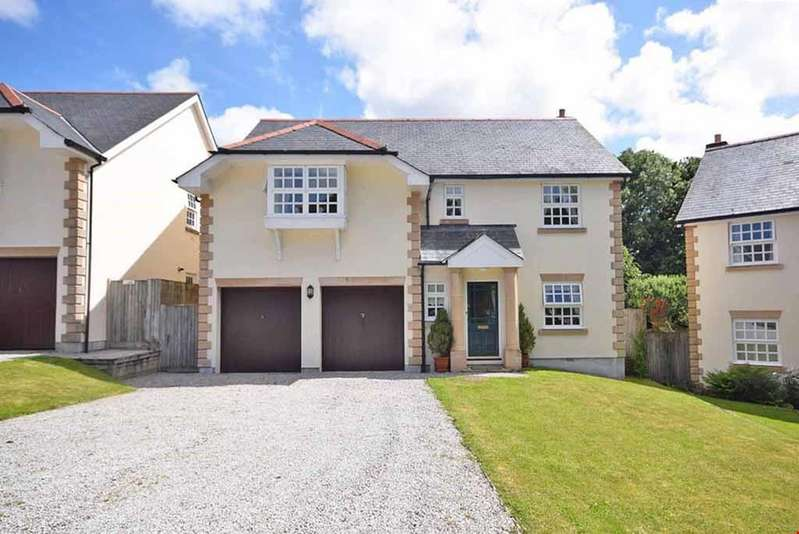 4 Bedrooms Detached House for sale in Tehidy Park, Tehidy, Nr. Camborne, Cornwall, TR14