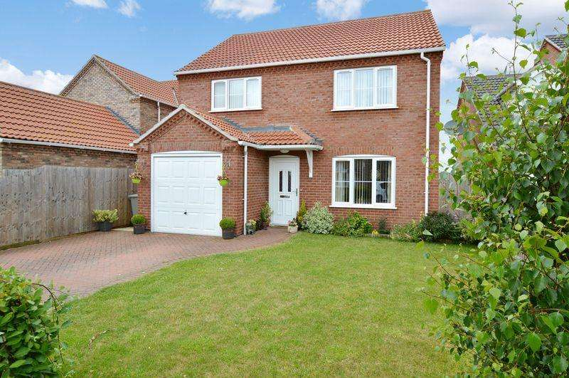 4 Bedrooms Detached House for sale in 3 Horseshoe Close, Tattershall