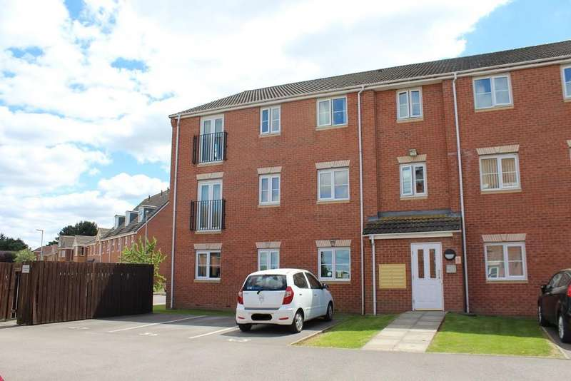 2 Bedrooms Apartment Flat for sale in Heather Gardens, North Hykeham