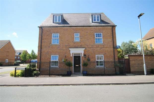 5 Bedrooms Detached House for sale in Crispin Drive, Bedford