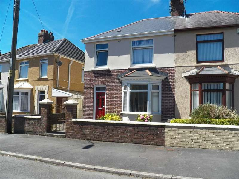 3 Bedrooms Semi Detached House for sale in Coedcae Road, Llanelli