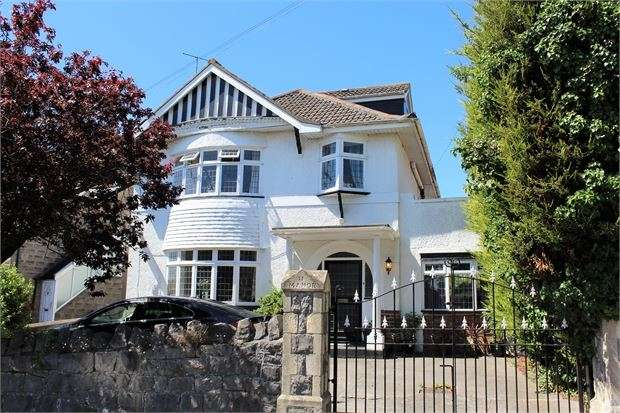 5 Bedrooms Detached House for sale in Manor Road, Weston-super-Mare, North Somerset. BS23 2SU