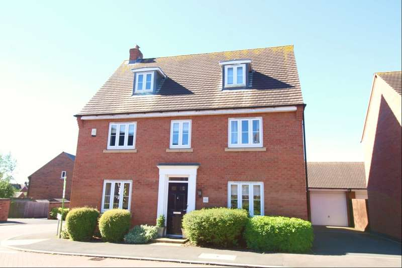 5 Bedrooms Detached House for sale in Oaklands Way, Earl Shilton, Leicester, LE9