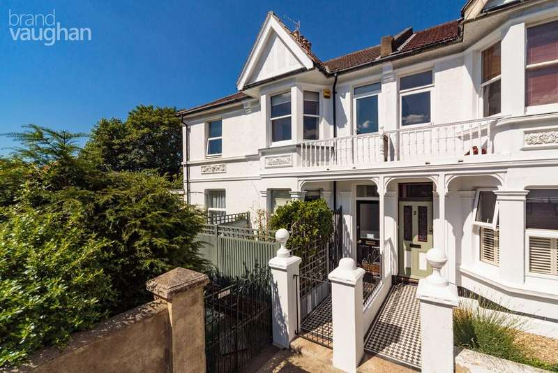 3 Bedrooms End Of Terrace House for sale in Leighton Road, Hove, BN3