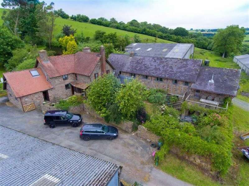6 Bedrooms Detached House for sale in Newcastle, Craven Arms, Shropshire, SY7