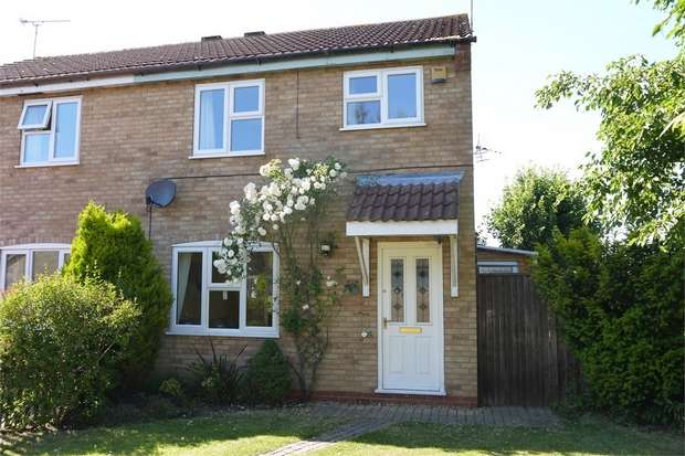 3 Bedrooms Semi Detached House for sale in Cobwells Close, Fleckney, Leicestershire