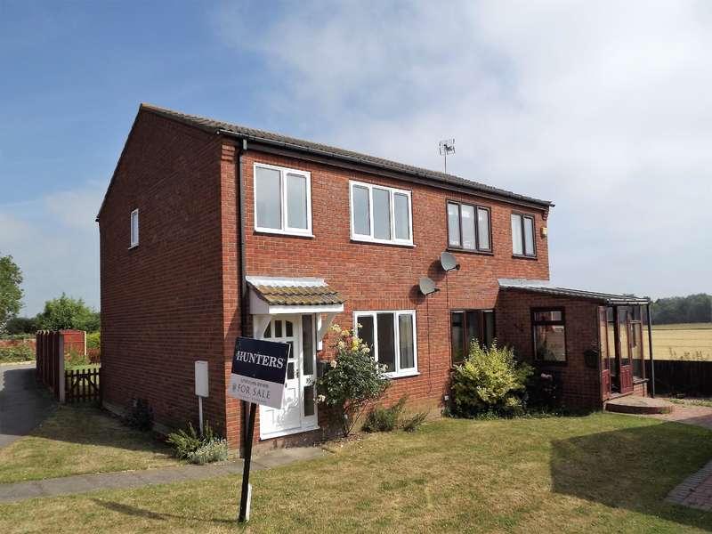 3 Bedrooms Semi Detached House for sale in Castle View, Walcott, LN4 32B