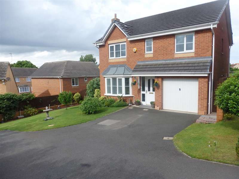 4 Bedrooms Detached House for sale in Cinnamon Drive, Trimdon Station