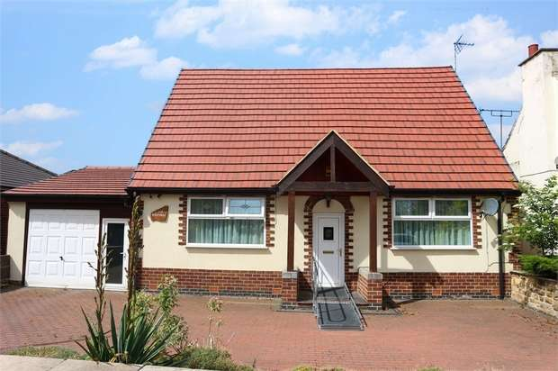 3 Bedrooms Detached Bungalow for sale in North Wingfield Road, Grassmoor, Chesterfield, Derbyshire