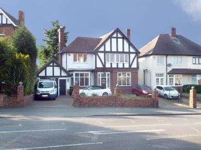 4 Bedrooms Detached House for sale in Merridale Road, Merridale, Wolverhampton, West Midlands