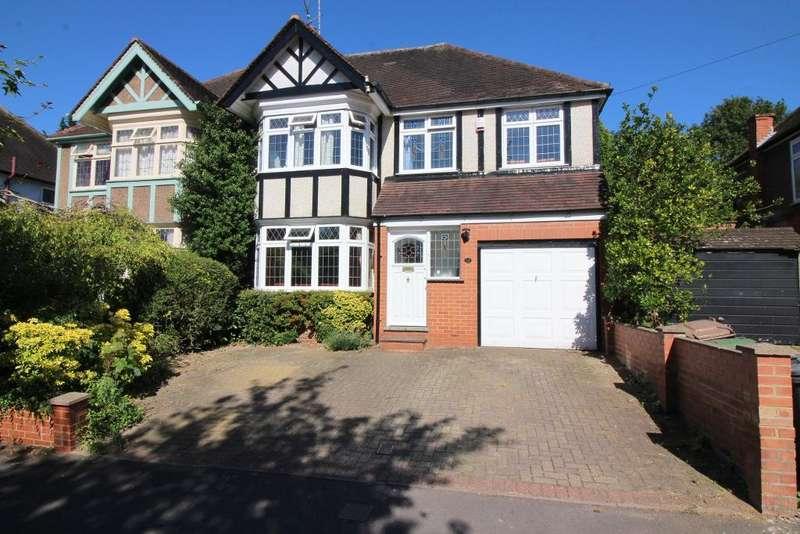 5 Bedrooms Semi Detached House for sale in Elmwood Crescent, Luton, Bedfordshire, LU2 7HX