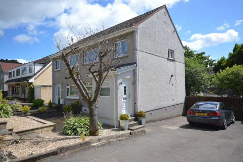 3 Bedrooms Semi Detached House for sale in MacPhie Road, Dumbarton G82 3PZ