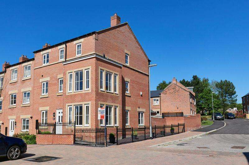 5 Bedrooms End Of Terrace House for sale in Geneva Way, Biddulph, Staffordshire, ST8 7FE