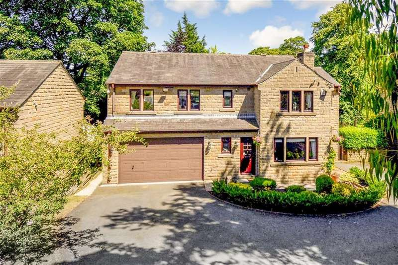 6 Bedrooms Detached House for sale in Hall Lee Fold, Lindley, Huddersfield, HD3