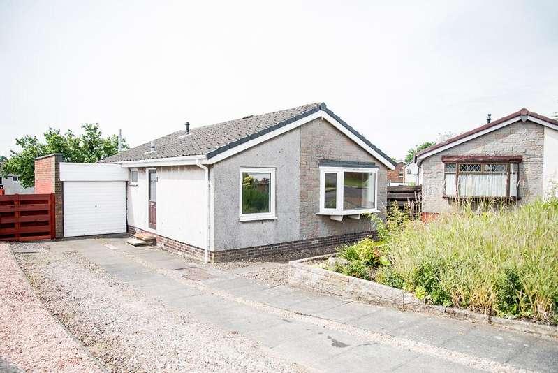 2 Bedrooms Detached Bungalow for sale in 8 Neidpath Drive, Stenhousemuir, Falkirk FK5 4TH