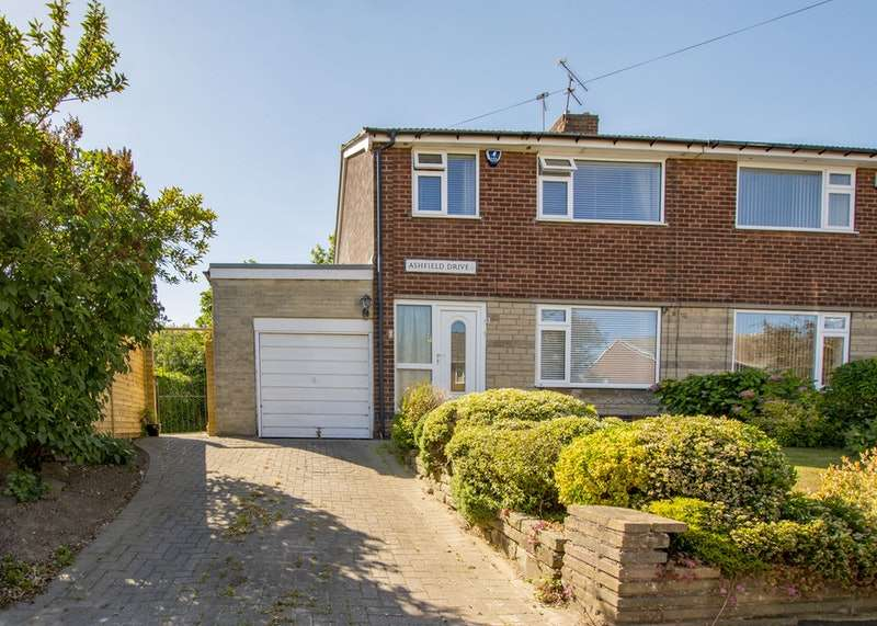 3 Bedrooms Semi Detached House for sale in Ashfield Drive, Sheffield, South Yorkshire, S12