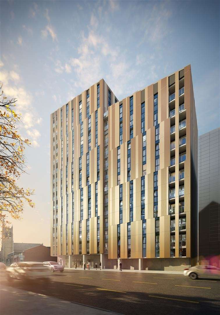 2 Bedrooms Flat for sale in The Hallmark, Cheetham Hill Road, The Green Quarter, Manchester