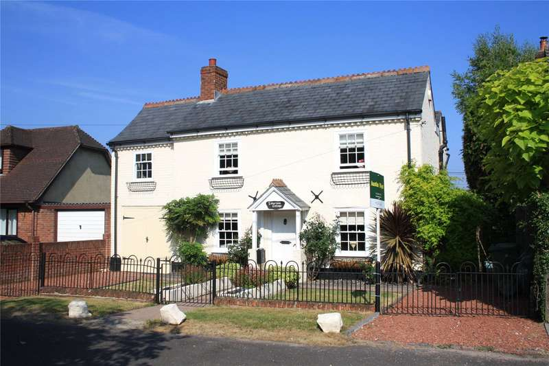 4 Bedrooms Detached House for sale in Old Lyndhurst Road, Cadnam, Southampton, Hampshire, SO40