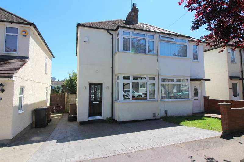 2 Bedrooms Semi Detached House for sale in Fourth Avenue, Luton, Bedfordshire, LU3 3BU