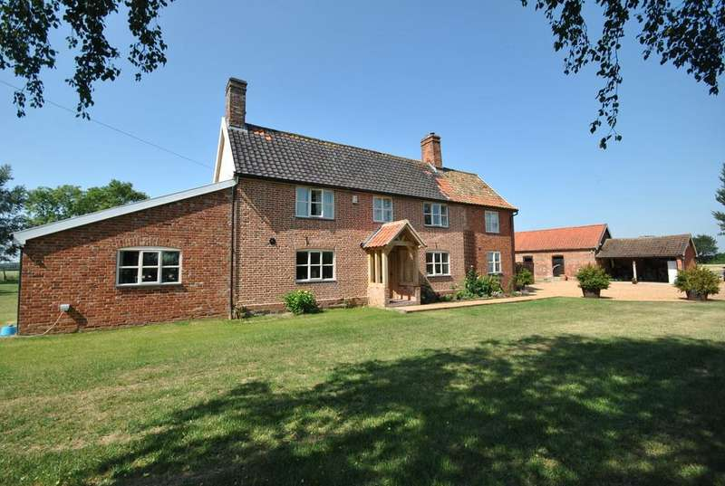 4 Bedrooms Detached House for sale in Winfarthing, Norfolk - in 5.86ac