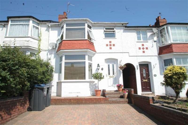 3 Bedrooms Terraced House for sale in Aubrey Road, Harborne