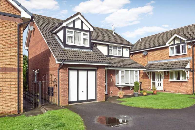 4 Bedrooms Detached House for sale in Adlington Close, Timperley, Altrincham, Cheshire, WA15