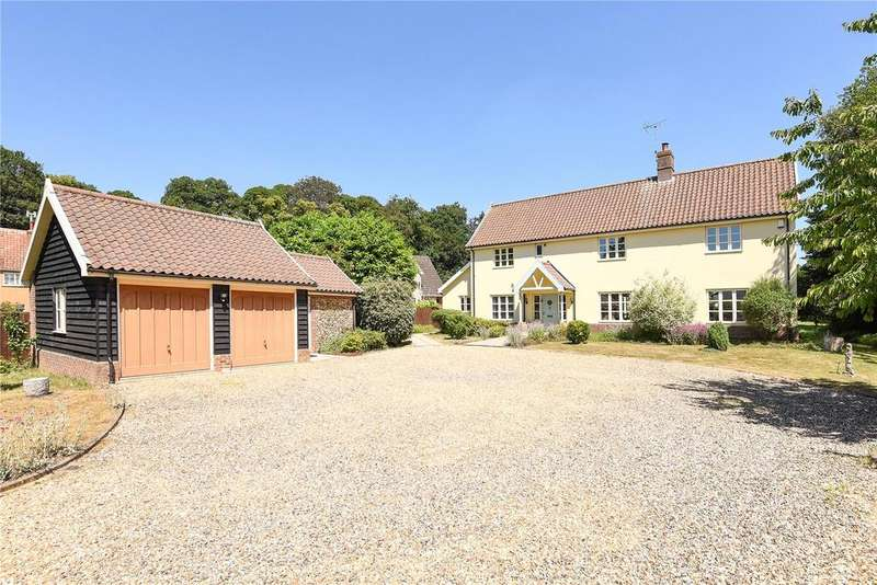 5 Bedrooms Detached House for sale in Sudbury Road, Sicklesmere, Bury St. Edmunds, Suffolk, IP30