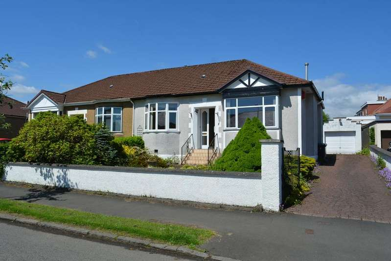 2 Bedrooms Semi Detached Bungalow for sale in 2 Keystone Quadrant, Milngavie, GLASGOW, G62 6LB