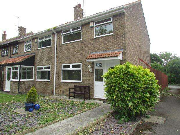 3 Bedrooms Terraced House for sale in MILBANK CLOSE, HART VILLAGE, HARTLEPOOL