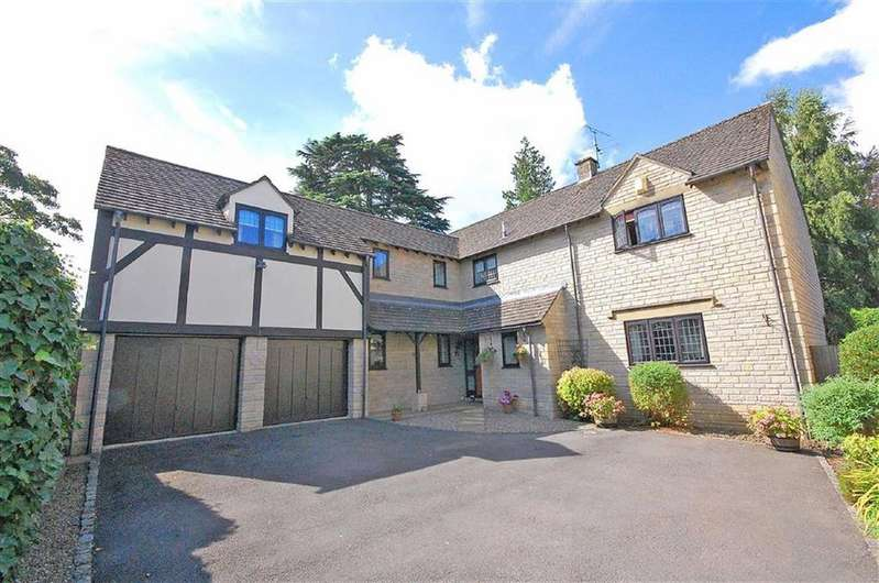 5 Bedrooms Detached House for sale in Courtfield Drive, Charlton Kings, Cheltenham, GL52