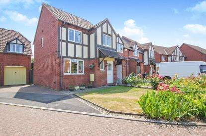 3 Bedrooms End Of Terrace House for sale in Dewfalls Drive, Bradley Stoke, Bristol, Gloucestershire