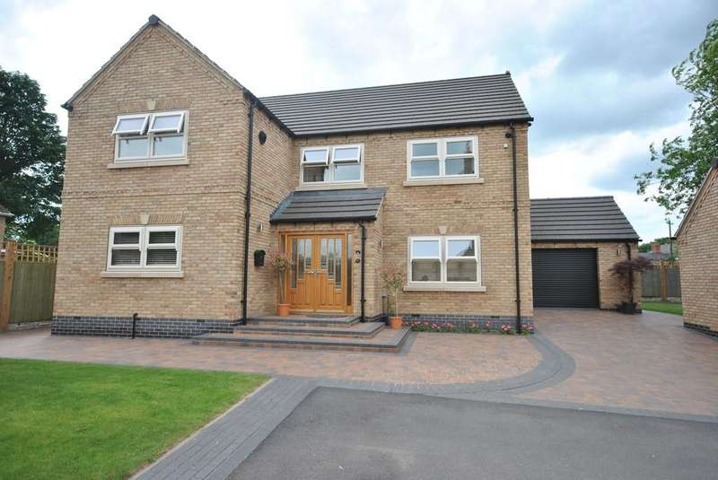 4 Bedrooms Detached House for sale in Holywell Lane, Braithwell