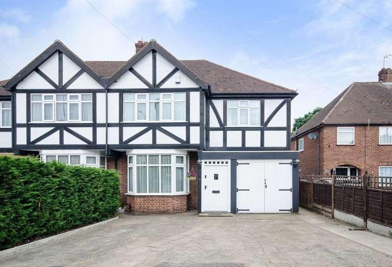 3 Bedrooms Semi Detached House for sale in Ickenham Road, Ruislip, HA4