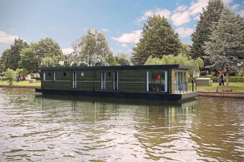 2 Bedrooms House Boat Character Property for sale in The Moorings At Windsor Riverside, Windsor SL4