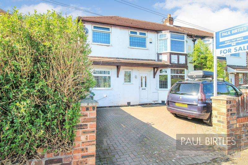 3 Bedrooms Semi Detached House for sale in Roslyn Avenue, Manchester