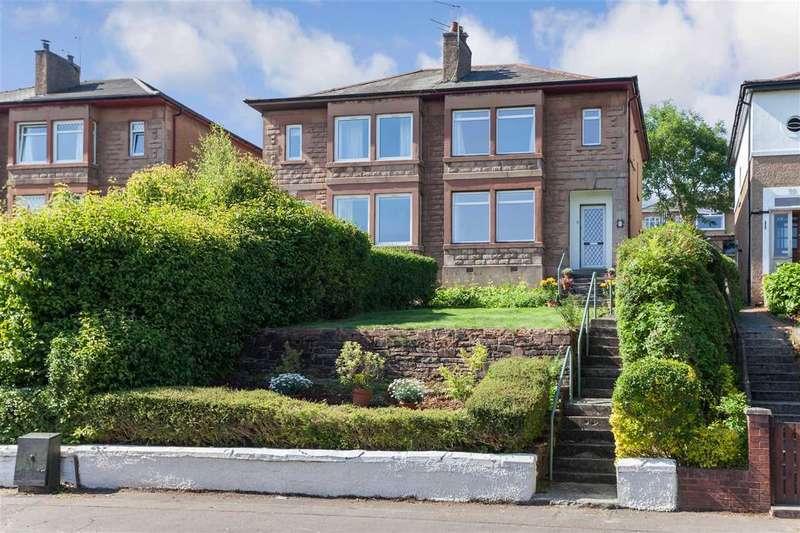 3 Bedrooms Semi Detached House for sale in Kilpatrick Gardens, Clarkston, GLASGOW