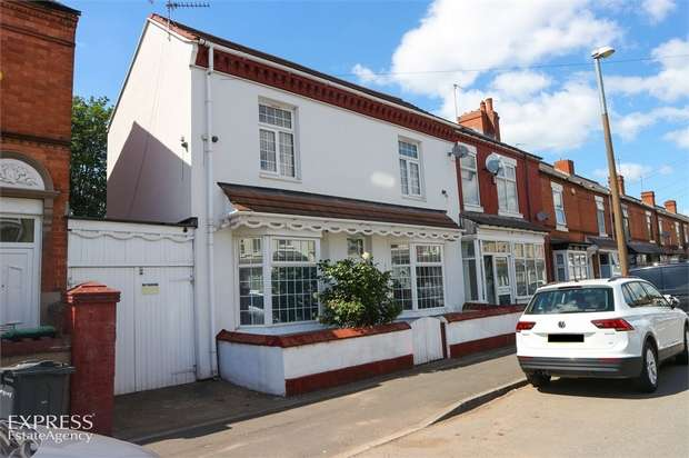 3 Bedrooms End Of Terrace House for sale in Cheshire Road, Smethwick, West Midlands